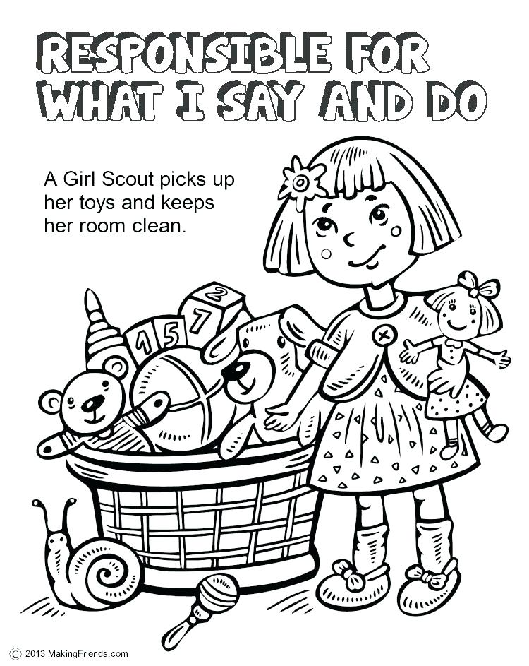 750x943 Sweet Idea Daisy Girl Scout Coloring Pages Printable A Page