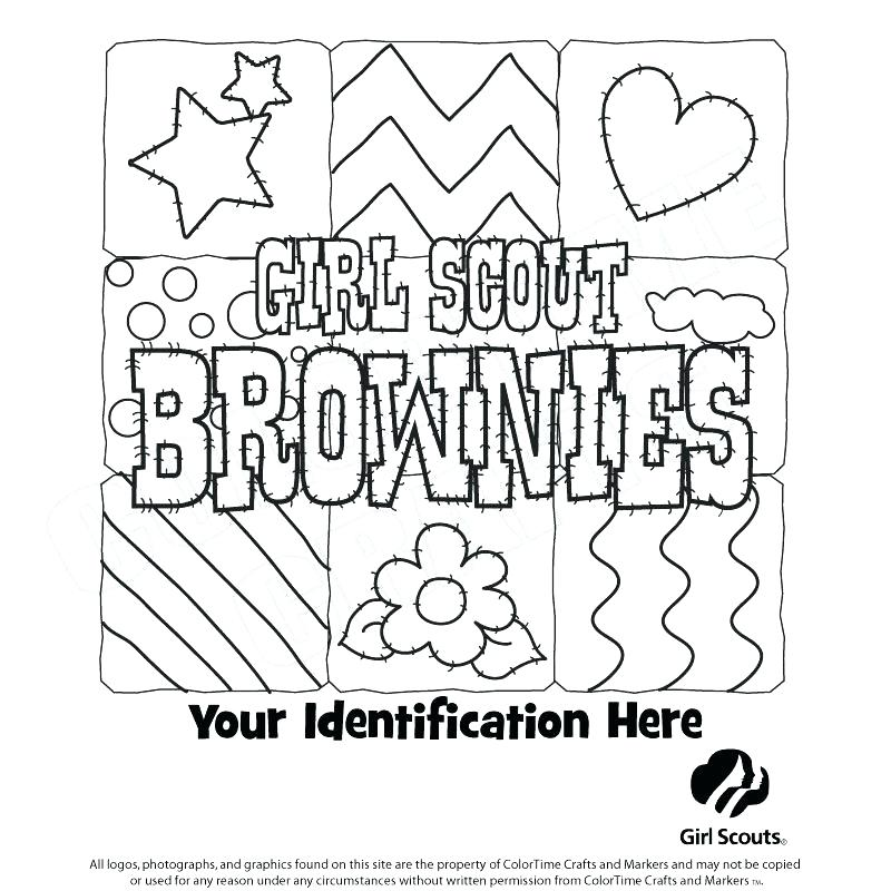 800x800 Coloring Pages For Girl Scouts Daisy Girl Scout Uniform Colouring