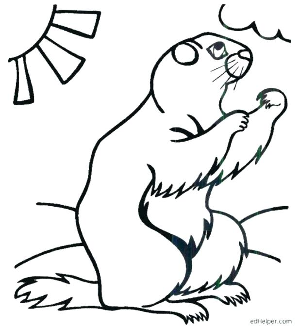 Free Printable Groundhog Day Coloring Pages at GetDrawings.com ...
