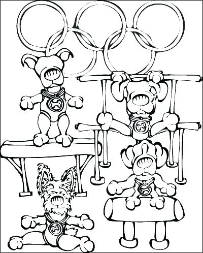 Free Printable Gymnastics Coloring Pages At Getdrawings Com Free