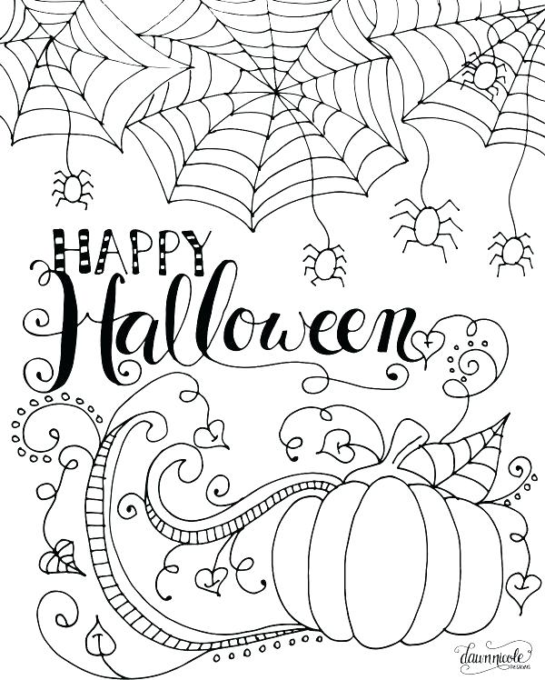 600x748 Free Halloween Printable Coloring Pages Free Printable Coloring