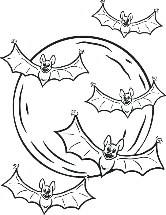 542x700 Good Free Printable Halloween Coloring Pages For Kids Or Free