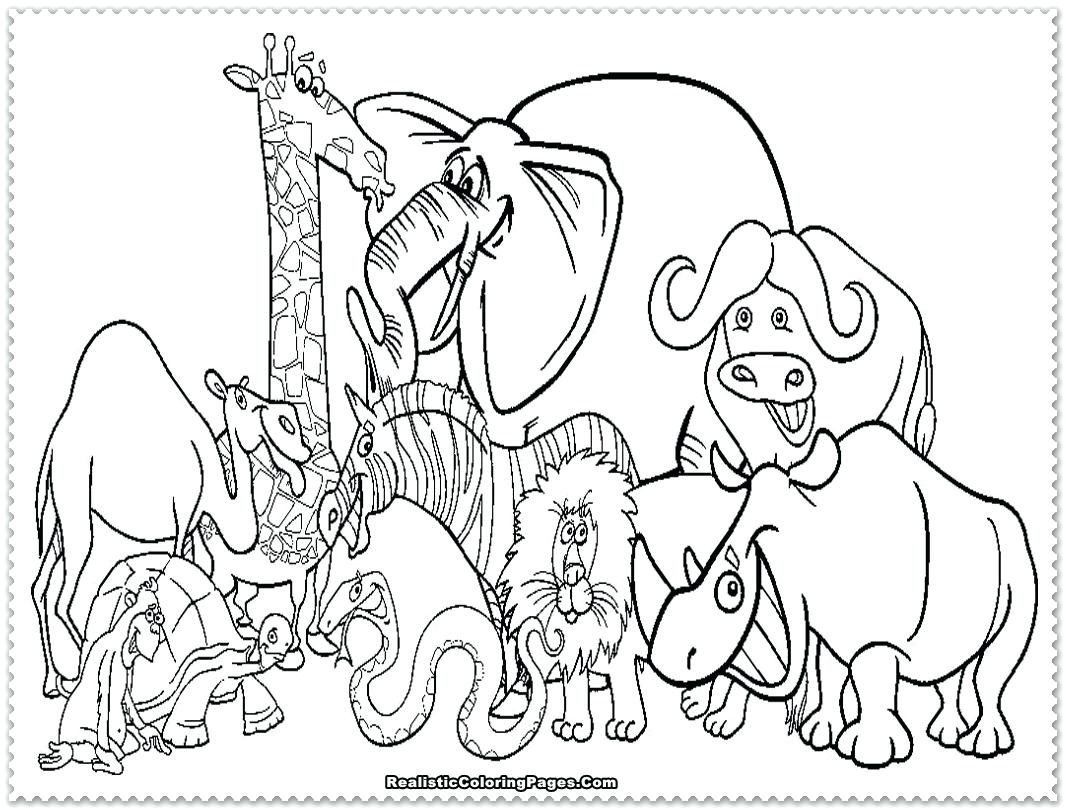 1066x810 Halloween Coloring Pages Adults Printables Of Zoo Animals To Print