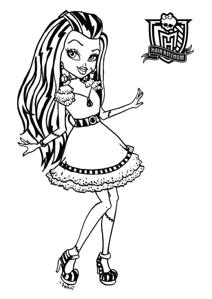 677x953 Coloring Pages For Halloween Free Printable Free Printable