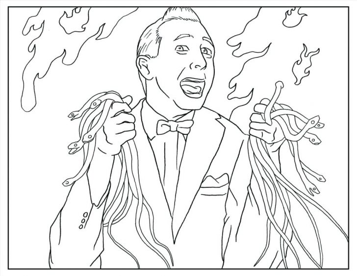 728x563 Disney Halloween Coloring Pages For Adults Free Printable Hard