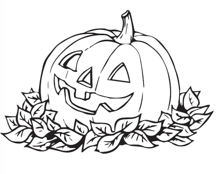 Free Printable Happy Halloween Coloring Pages at GetDrawings.com ...