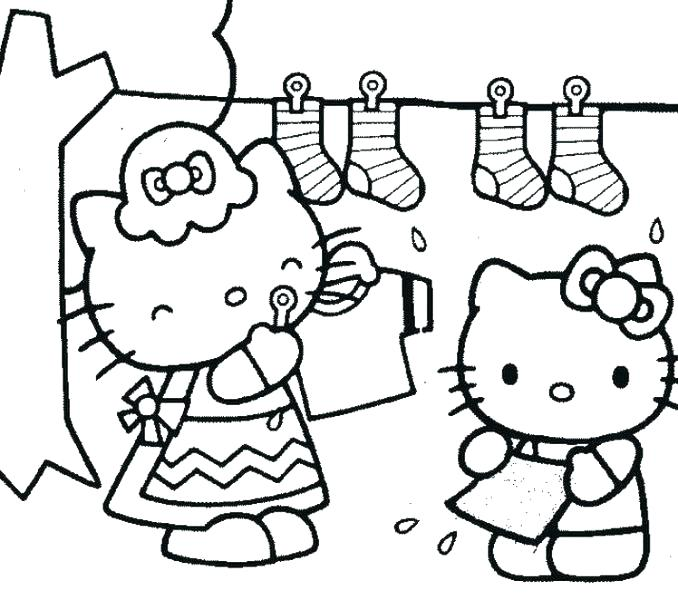 678x600 Coloring Pages For Hello Kitty Free Coloring Pages Hello Kitty