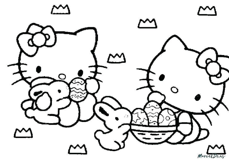 940x668 Hello Kitty Colouring Pages Free Printable Hello Kitty Coloring