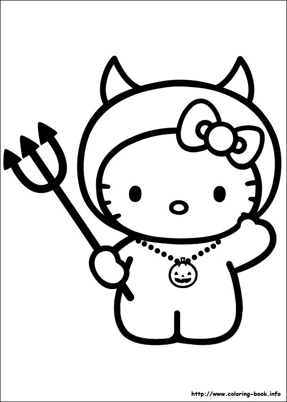 567x794 Hello Kitty Coloring Pages On Coloring