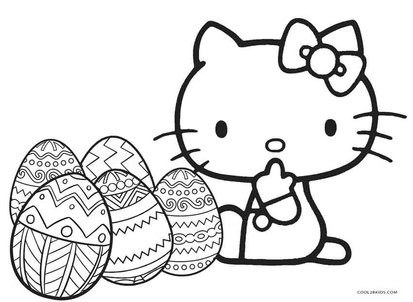 850x622 Free Printable Hello Kitty Coloring Pages