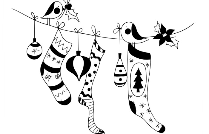Free Printable Holiday Coloring Pages