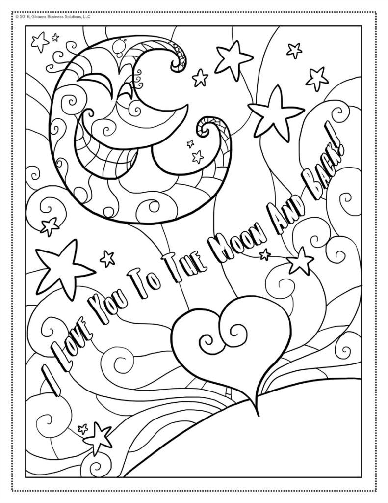 31 I Love You Coloring Sheets Free Printable Coloring Pages