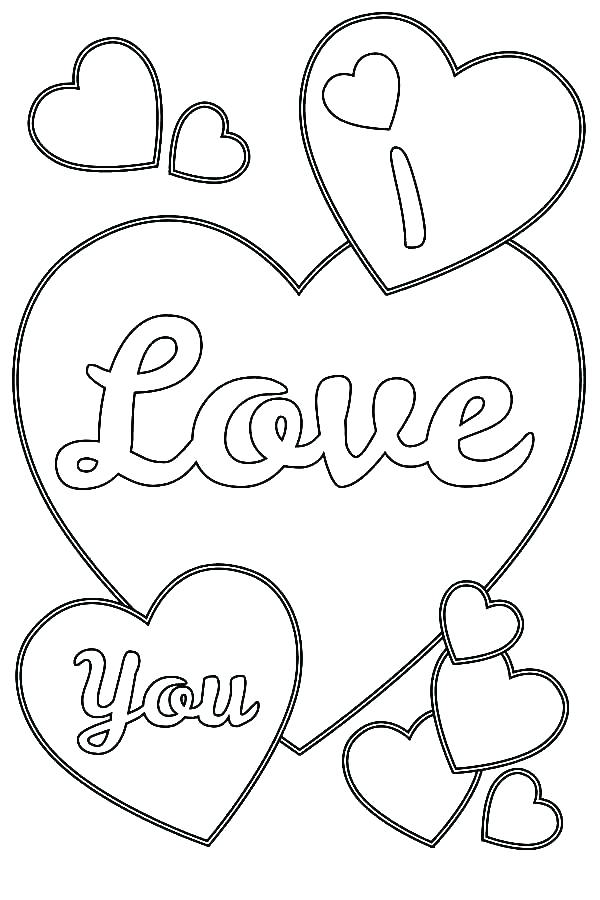 600x900 I Love You Coloring Pages For Adults Love You Coloring Pages Love