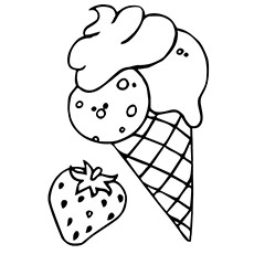 Free Printable Ice Cream Coloring Pages at GetDrawings.com | Free ...