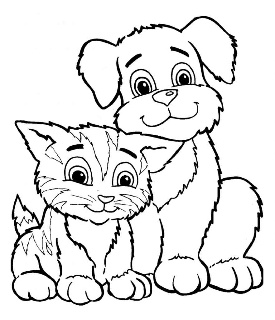 882x1024 Free Printable Pictures Of Kittens Useful Kitten Coloring Pages