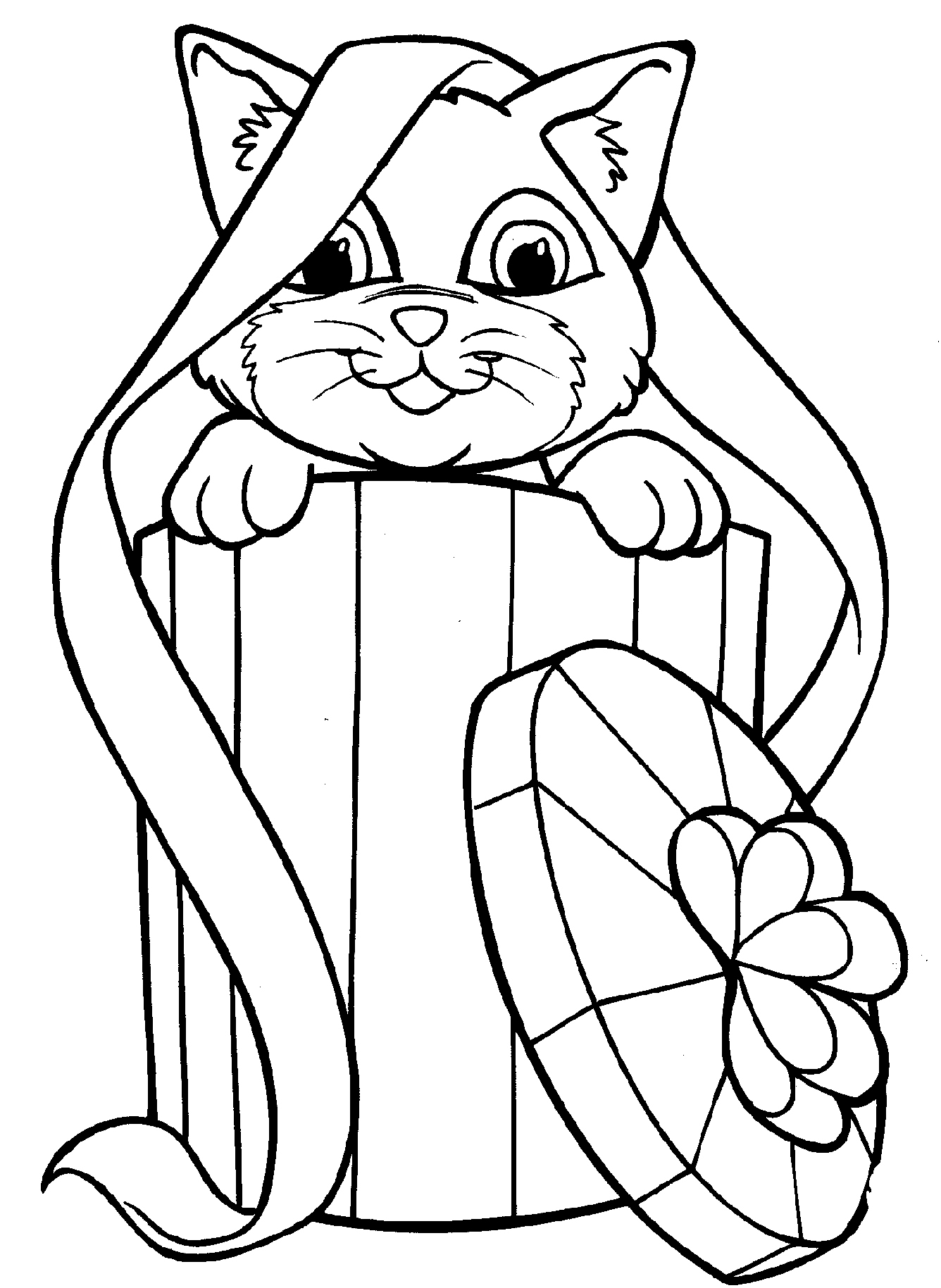1336x1829 Cat Coloring Page Luxury Free Printable Kitten Coloring Pages