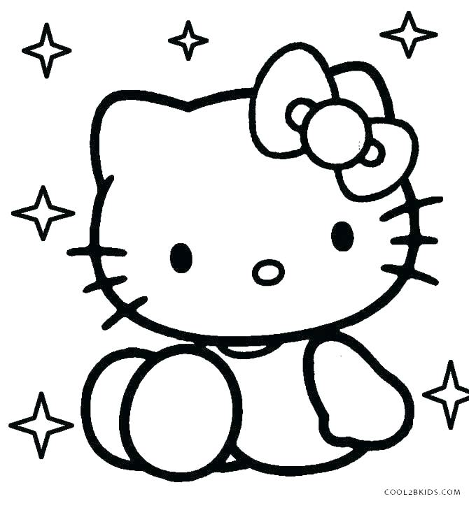 670x727 Kitten Coloring Pages To Print Pet Coloring Sheets Kids Coloring
