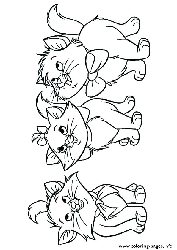 595x842 Printable Kitten Coloring Pages Cute Kitten Coloring Pages Free
