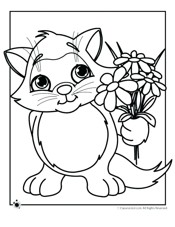 741x960 Cats And Kitten Coloring Pages Kids Cat Free Cats And Kitten