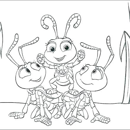 440x440 Bug Coloring Sheets Bug Coloring Page Bug Coloring Page Coloring
