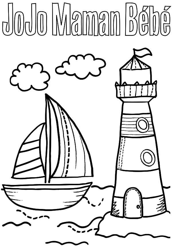Boat coloring pages - Hellokids.com | 872x600