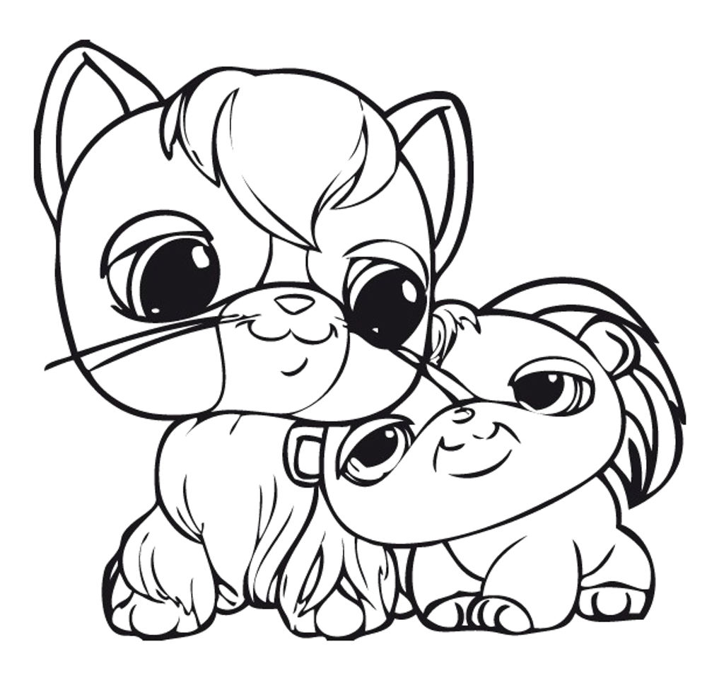 1000x969 Littlest Pet Shop Coloring Pages