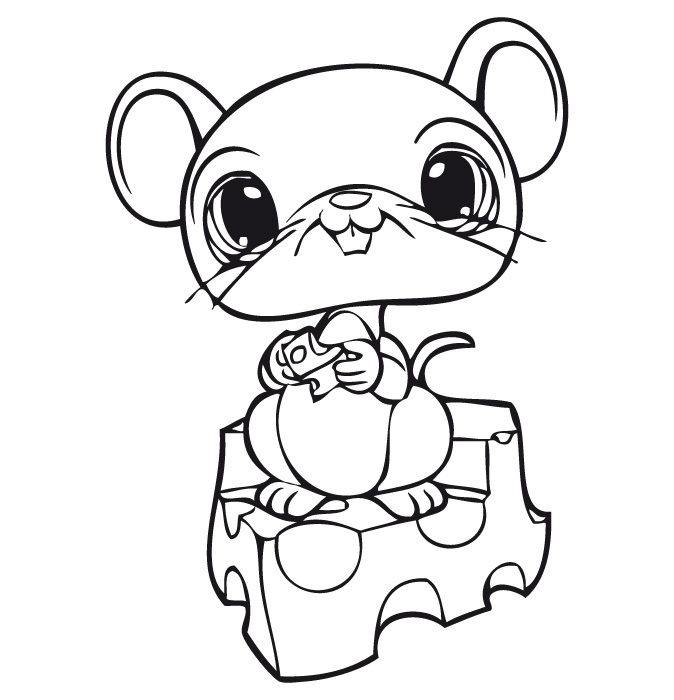 674x700 Littlest Pet Shop Coloring Pages To Print Free Printable