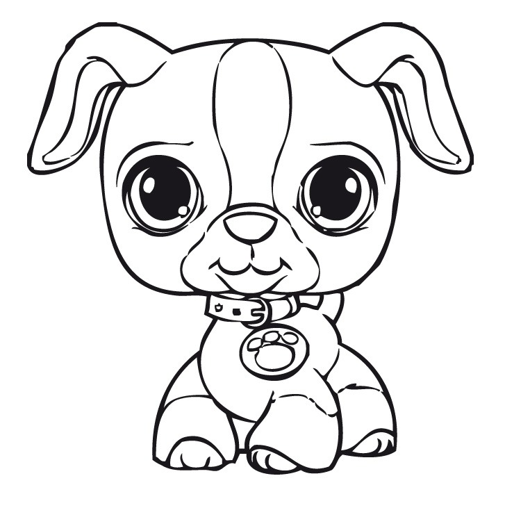 727x731 Littlest Pet Shop Coloring Pages For Kids