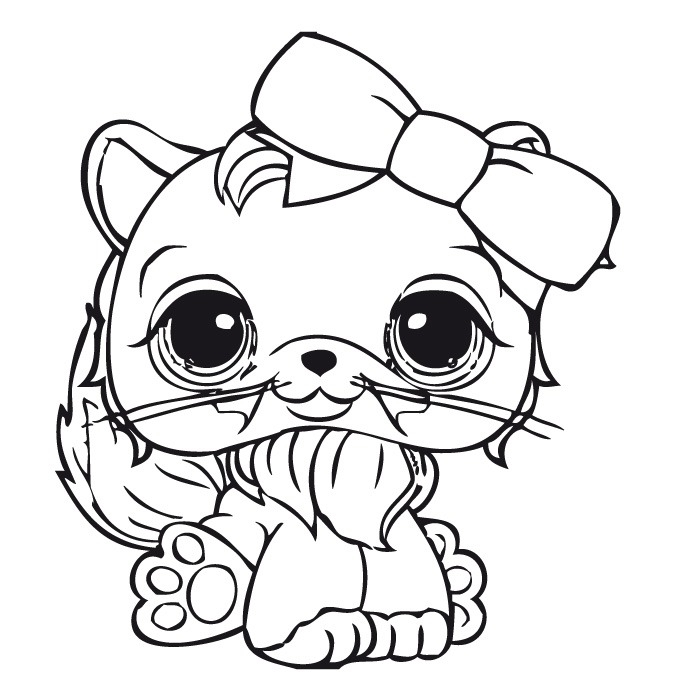 674x700 Coloriage Dessins Littlest Pet Shop Lps Coloring Pages