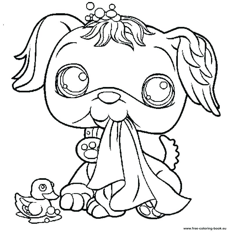 786x800 Lps Coloring Pages Coloring Book Packed With Littlest Pet Shop