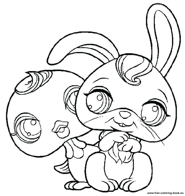 754x800 Lps Coloring Pages Printable Lockers Para Littlest Pet Shop