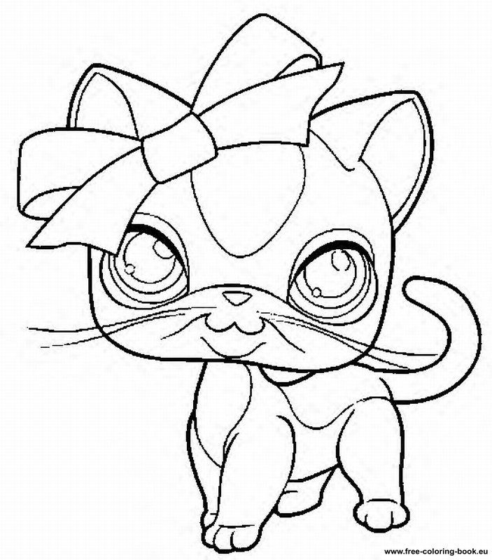 703x800 Coloring Pages Lps Littlest Pet Shop Drawings