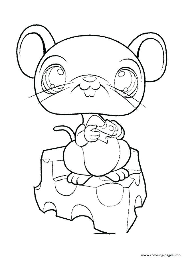 687x905 Coloring Pages Printable Little Pet Shop Coloring Pages
