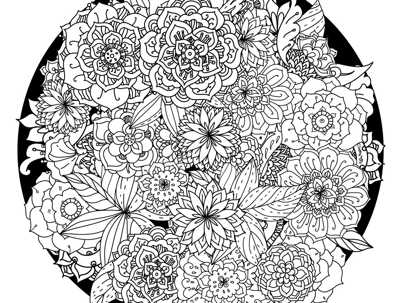 Free Printable Mandala Coloring Pages For Adults At