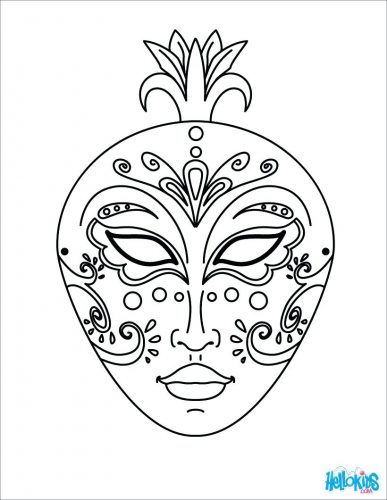 387x500 Coloring Pages Mardi Gras Coloring Pages Mardi Gras Float