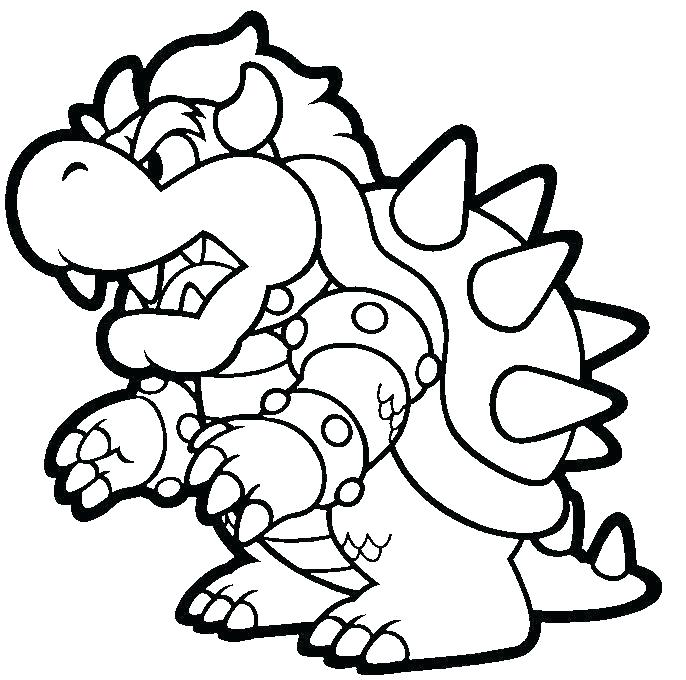 Free Printable Mario Coloring Pages At Getdrawings Free Download