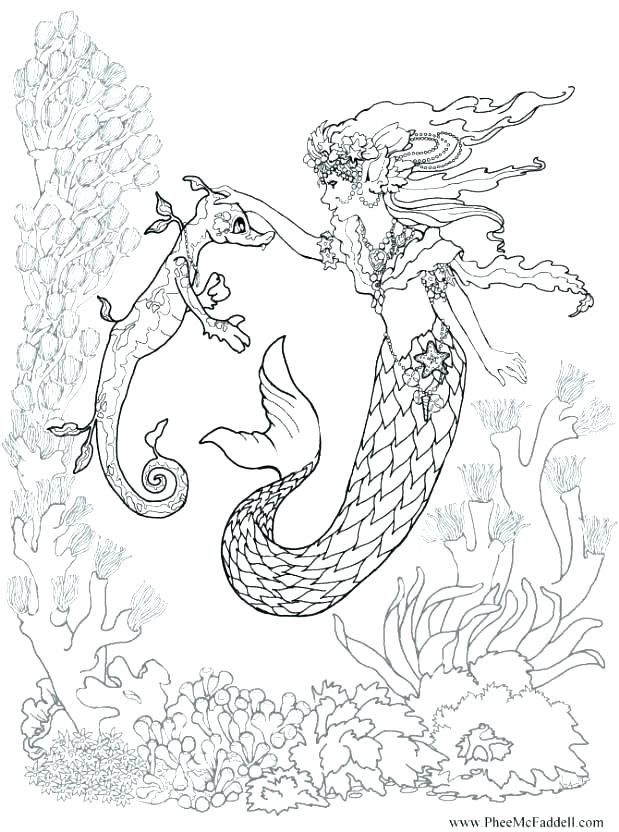 picture about Printable Mermaid Pictures referred to as Free of charge Printable Mermaid Coloring Internet pages at