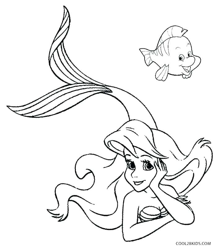 704x800 Mermaid Color Pages Free Printable Mermaid Coloring Pages Mermaid