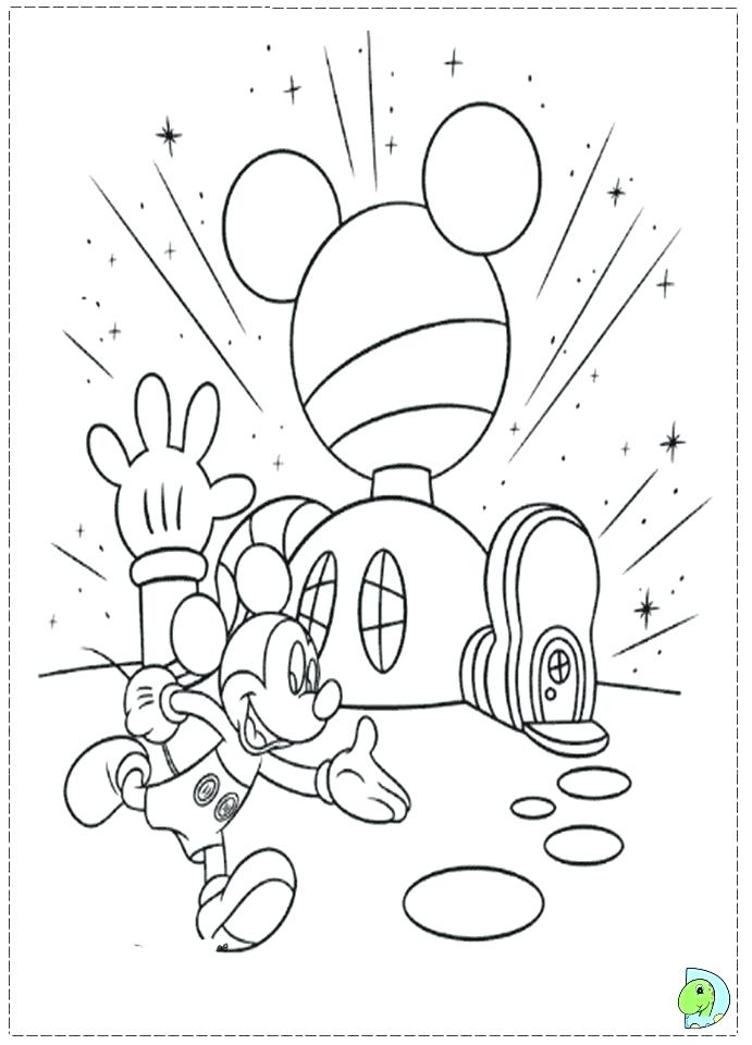 691x960 Mickey Mouse Clubhouse Coloring Page Mickey Mouse Clubhouse
