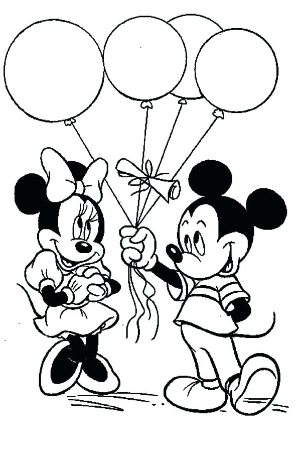600x904 Mickey Mouse Printable Coloring Pages Baby Mouse Printable