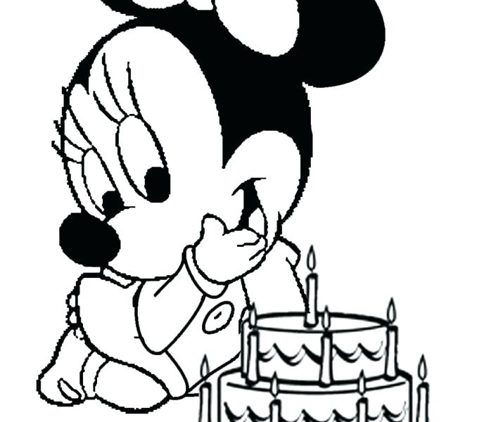 678x600 Mickey And Mouse Printable Coloring Pages Free For Kids Free