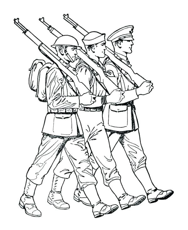 600x734 Military Coloring Page Army Coloring Pages Printable Military Tank