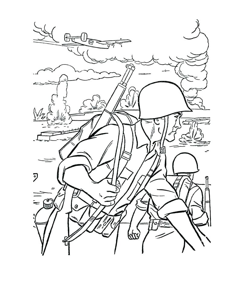 801x942 Military Coloring Pages Military Coloring Sheets Military Airplane
