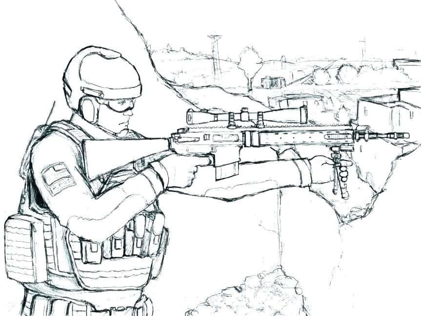 Free Printable Military Coloring Pages At Getdrawings Com Free For