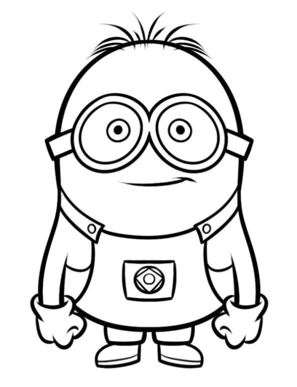 595x776 Coloring Minions Best Of Minions Color Pages Kids Information