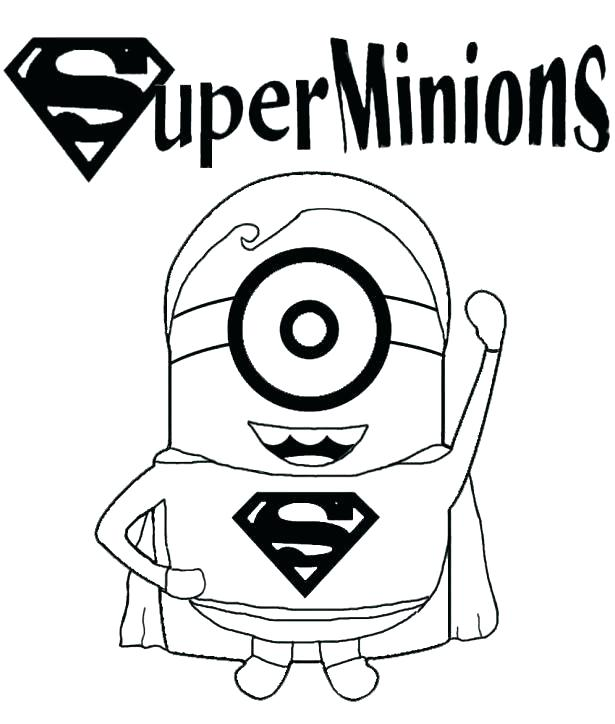 Free Printable Minion Coloring Pages at GetDrawings.com | Free for ...