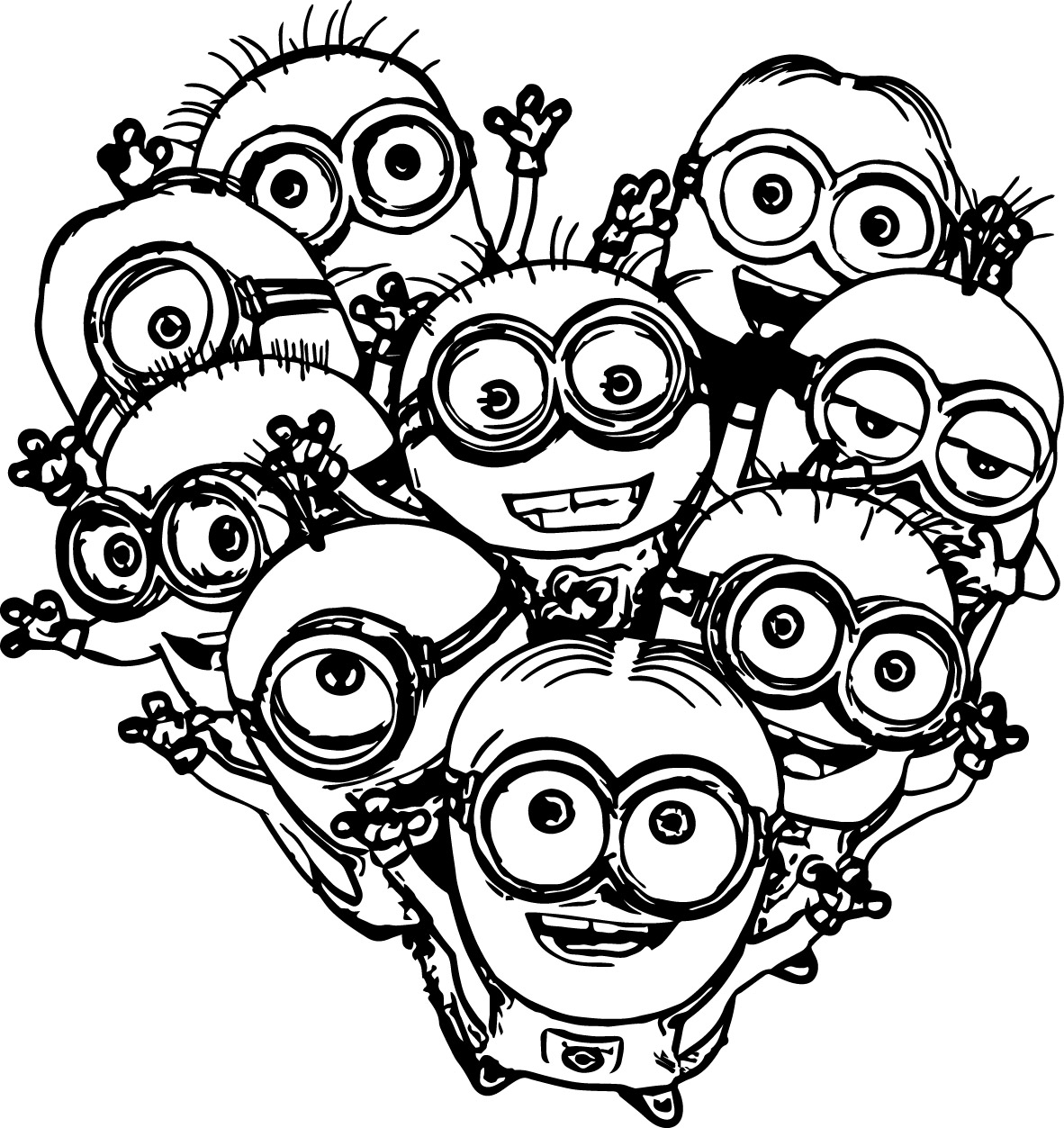 1182x1253 Vampire Minion Coloring Pages Download And Print For Free