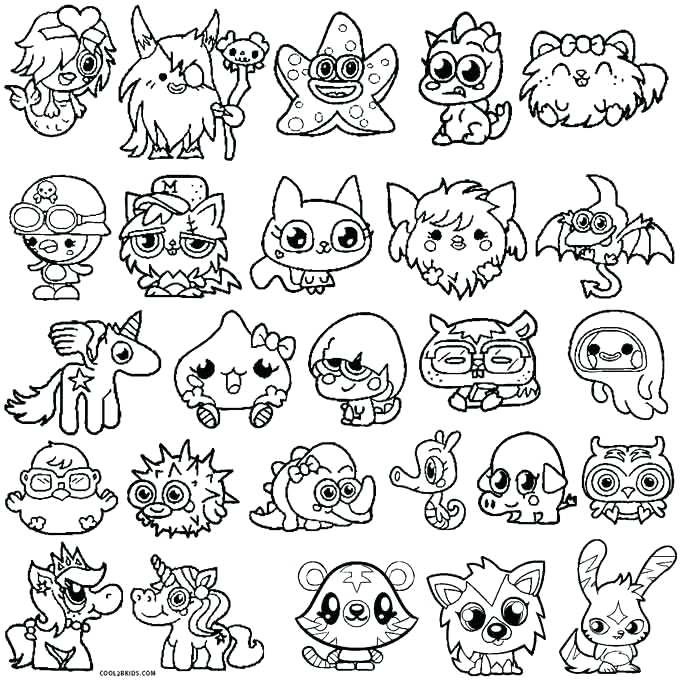680x680 Monster Coloring Pages Printable Monsters Coloring Pages For Kids