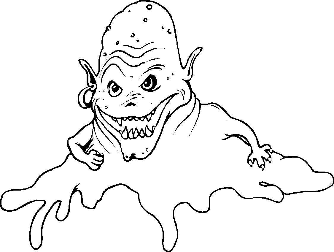 1126x849 Monsters Have A Scary Face Monsters Scary Faces