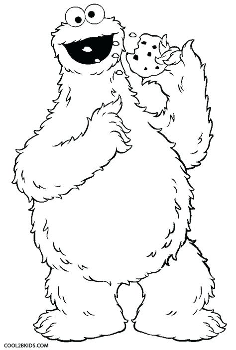 474x703 Cookie Monster Coloring Page Printable Cookie Monster Coloring
